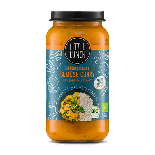 Lieblingssauce Gemüse Curry