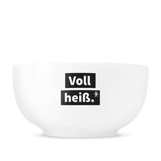 """Suppenschüssel """"Voll heiß"""""""