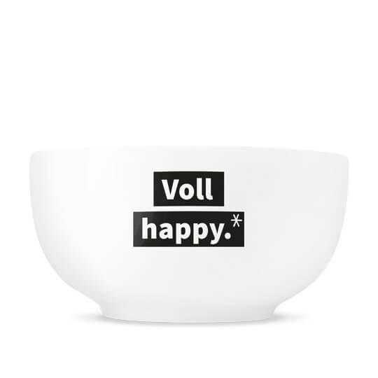 """Suppenschüssel """"Voll happy"""""""