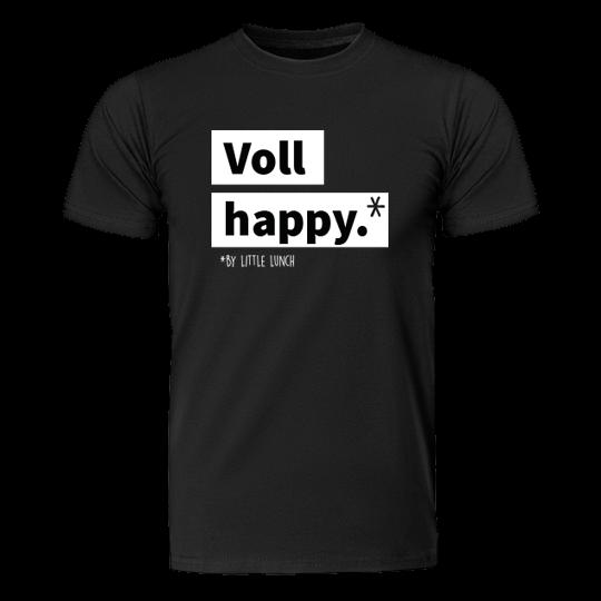 "Bio T-Shirt ""Voll Happy"" (unisex)"