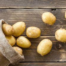 Kartoffeln für Gulaschsuppe
