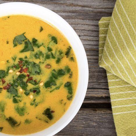 Karottensuppe mit Kräuter